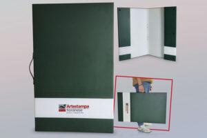 cartotecnica cartella verde