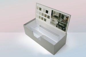 scatola campioni