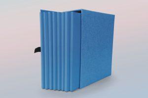 box porta catalogo